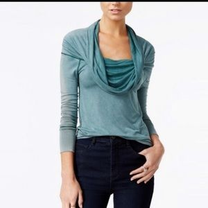 Free people - Cosmo cowl neck long sleeve top